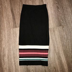 Mid calf Pencil skirt